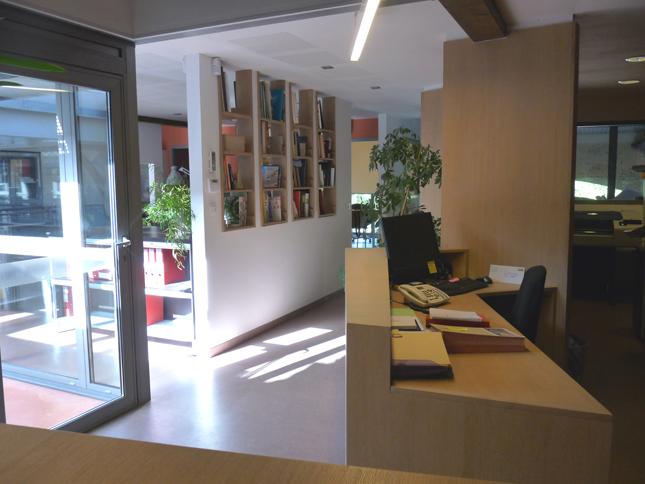 Agence Max Romanet Architectes - Entrée