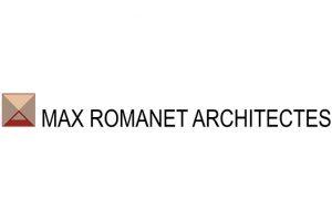 Logo Max Romanet Architectes