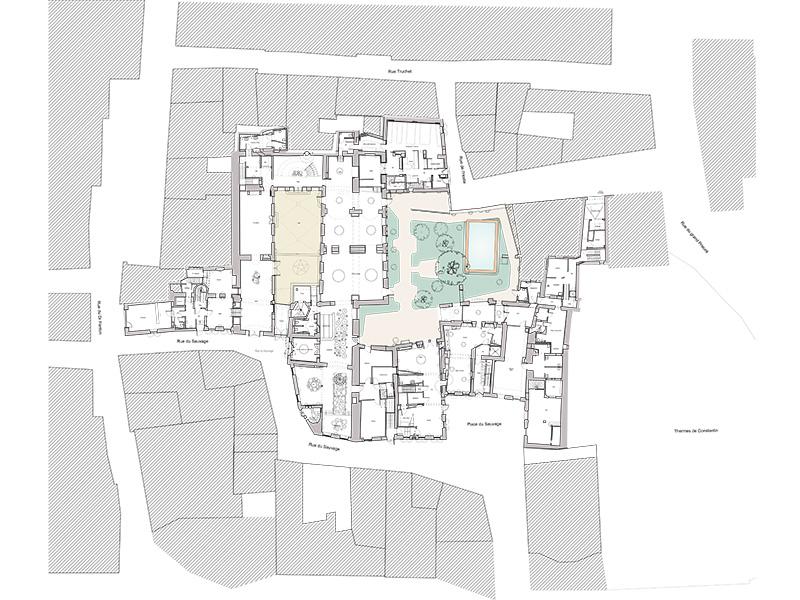 Hotel Arlatan - plan general